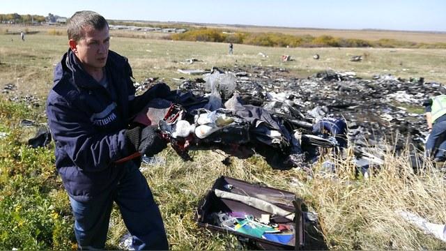 ABC: Австралиец «сберег» улики с MH 17 от России и вернет их за плату
