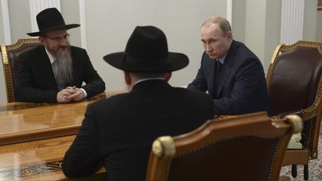 Глава еврейского конгресса оценил вклад Путина в «возрождение иудаизма»