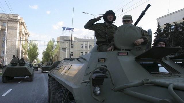 Bild: Пока Донбасс готовится к параду, там хотя бы не воюют
