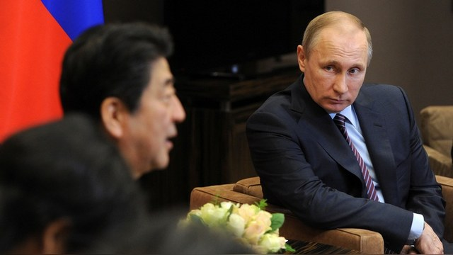 Tokyo Shimbun не поняла, какой «новый подход» к Курилам нашел премьер Абэ