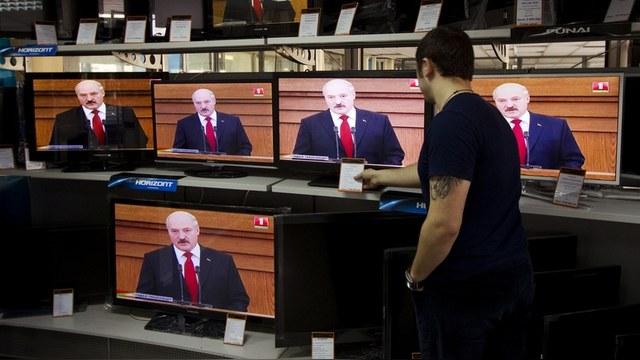 Радыё Свабода: Белорусские СМИ вынуждены плясать под российскую дудку