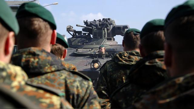Web.de: Немецкие солдаты в Прибалтике – не лучшее решение