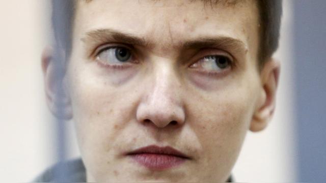 В Минюст России поступил запрос о передаче Савченко на Украину
