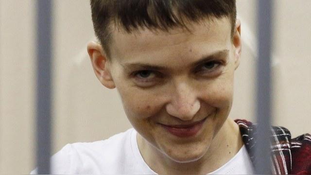 Bloomberg: В истории с Савченко Украина добилась моральной победы
