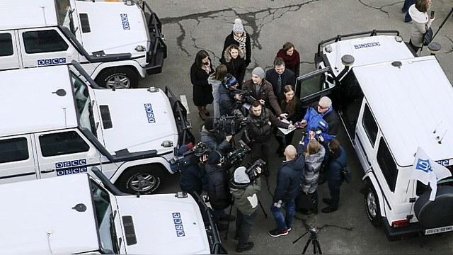 ОБСЕ требует расследовать публикацию списка журналистов, работающих в ДНР