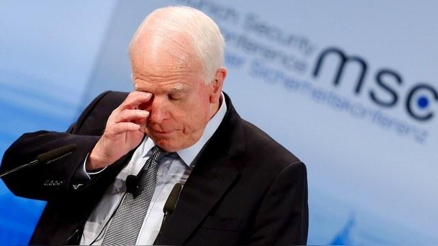 Маккейн пожаловался Минфину на «избирательный подход» к России