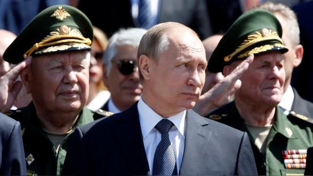 Путин осудил НАТО за агрессивность и похвалил Думу за поддержку Крыма