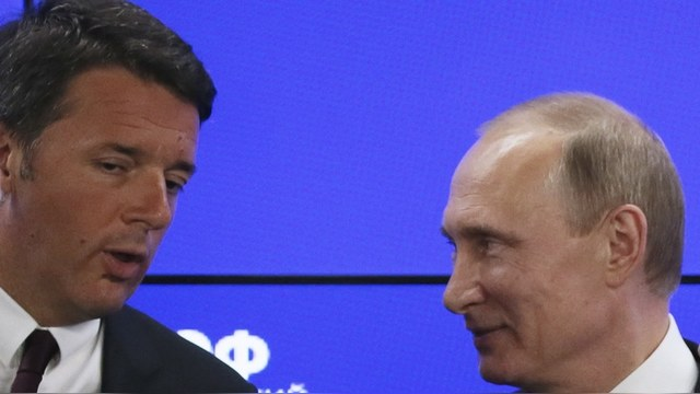 RFE: Италия тормозит продление антироссиийских санкций