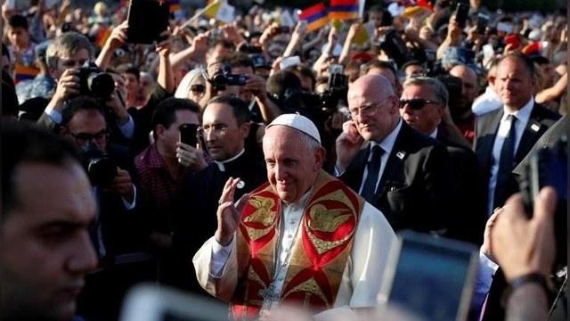 DS: Турция записала Папу в крестоносцы за слова о геноциде армян