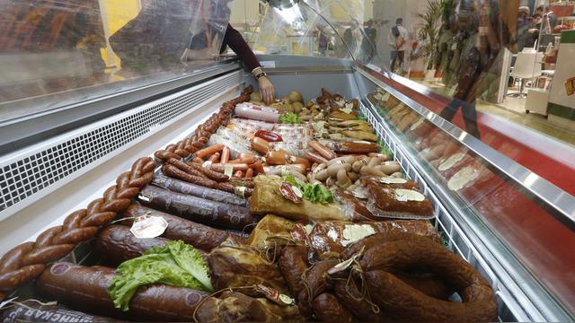 Вести: Украинцы попробуют на вкус «бандеровскую» колбасу