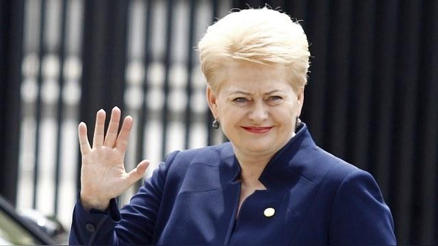 Грибаускайте: Нельзя исключать вероятности вторжения России в Литву