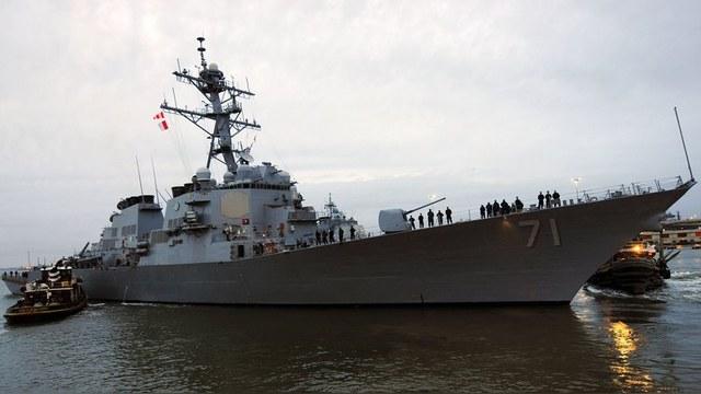 Newsweek: Ракетный эсминец США вошел в Черное море