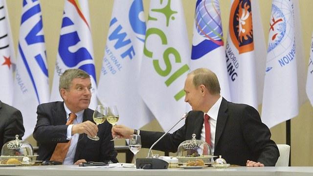Разозлившись на МОК, Bild назвал его главу «пуделем Путина»
