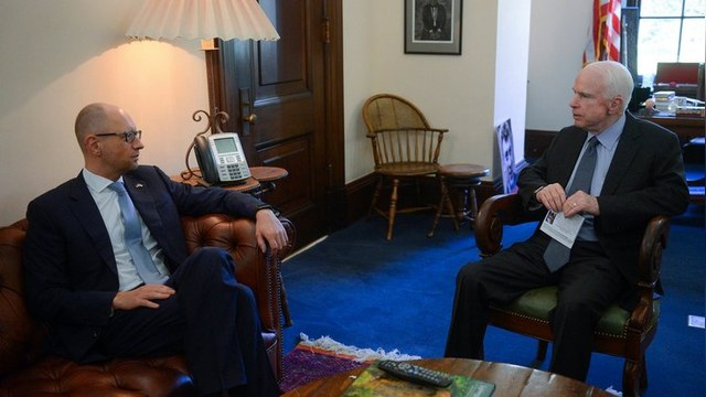 112: Яценюк о позиции Трампа по Крыму – вызов ценностям свободного мира
