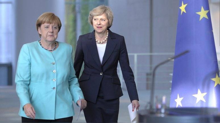 Guardian: Мэй устоит перед Путиным, если будет делать как Меркель