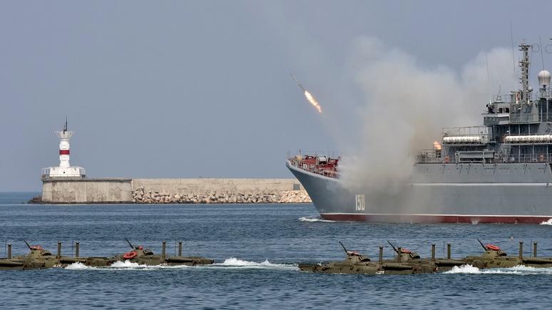 Черноморский флот начал учения в Восточном Средиземноморье