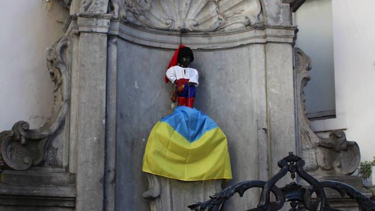 Kresy: «Российский казак» подмочил украинский флаг с одобрения дипломатов