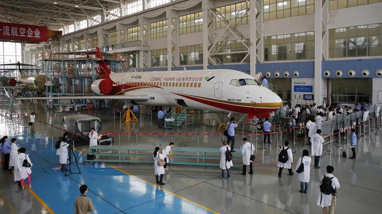 AeroTelegraph: Россия и Китай готовят конкурента «боингу»