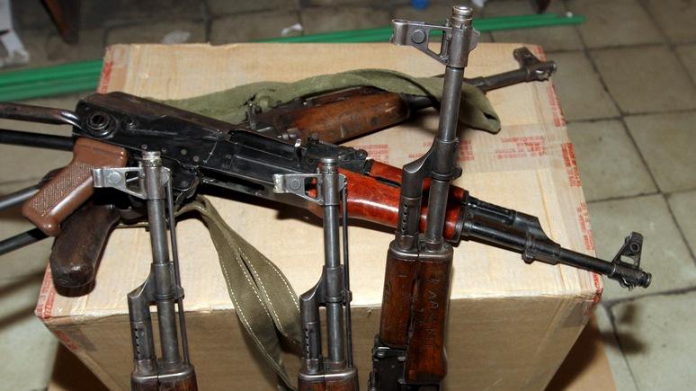 Nation: С помощью США Украина стала «супермаркетом нелегального оружия»