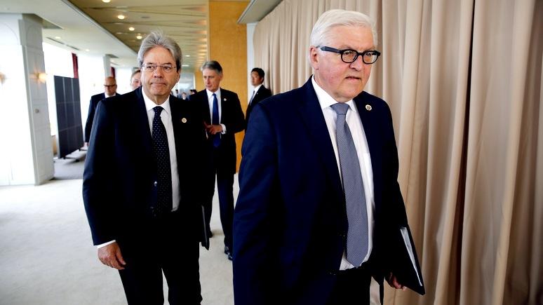 Штайнмайер посулил России место в G8 – в ответ на хорошее поведение