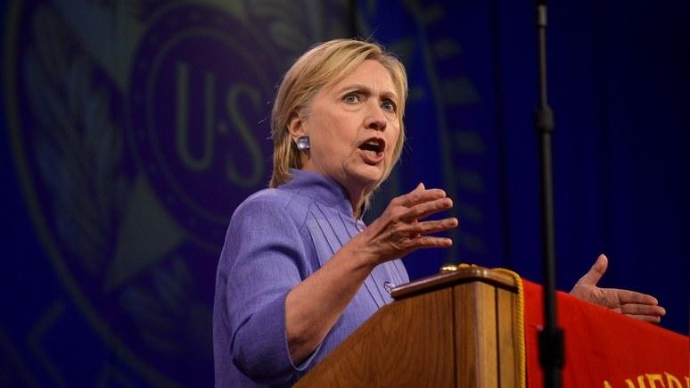 Клинтон обрушила на Трампа тезис об «американской исключительности»