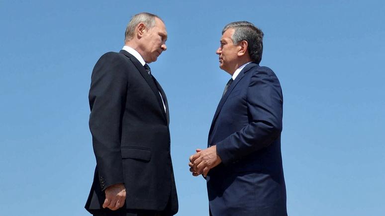 Bloomberg: Путин рассказал «преемнику» Каримова о важности стабильности