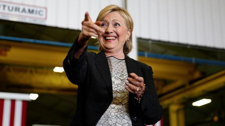 Daily Mail: Клинтон поведала апельсину выбор между Трампом и Путиным