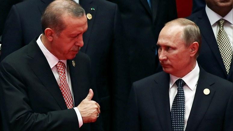 Hürriyet Daily News: Путин и Эрдоган определились с ИГ и Алеппо