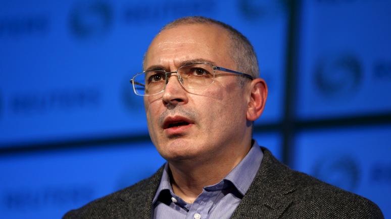 Bloomberg: Для Кремля идеи Ходорковского оторваны от реальности