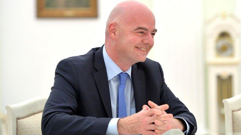 AP: Президент ФИФА призвал «не компрометировать» ЧМ в России