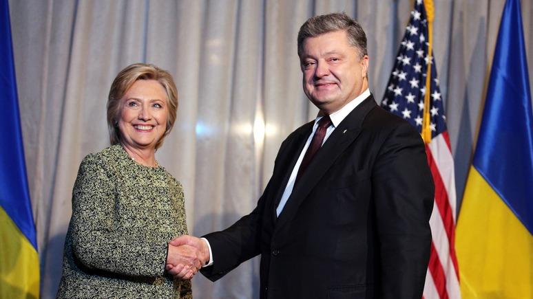 Сегодня: Порошенко рассказал Клинтон о реформах и заручился поддержкой