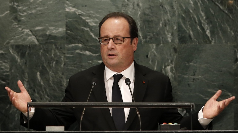Олланд: Москва разделит вину Дамаска, если не принудит его к миру