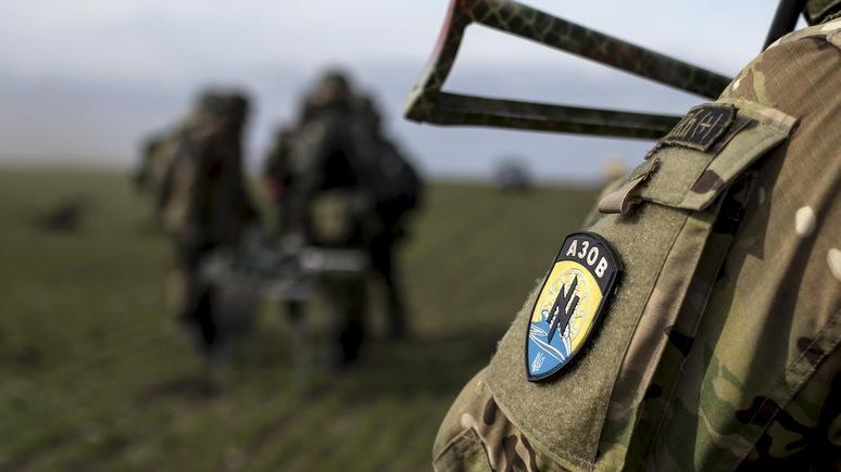 National: Инструкторы «Азова» поднимают дух юных пением «Смерть русским»