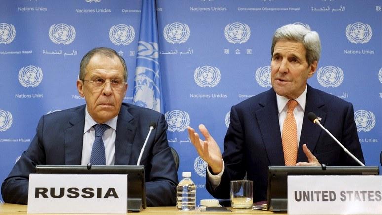 WSJ: Госдеп США рассекретил часть соглашения с РФ по Сирии