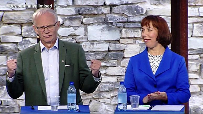 Русская тема оказалась в центре дебатов кандидатов в президенты Эстонии