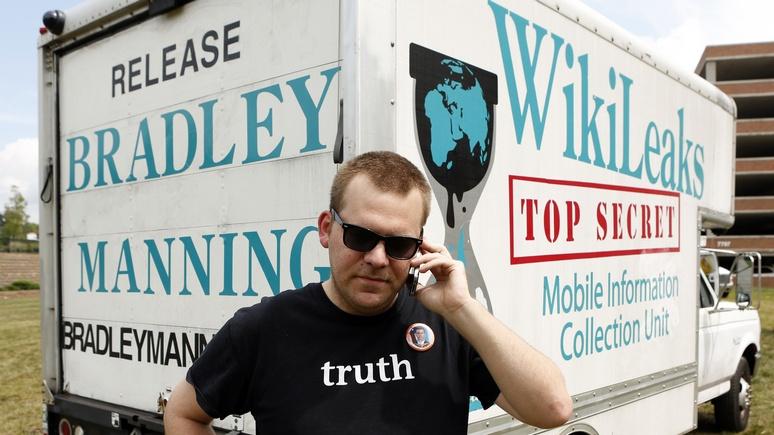 Focus: Вбросы компромата на WikiLeaks - дело рук «московской агентуры»