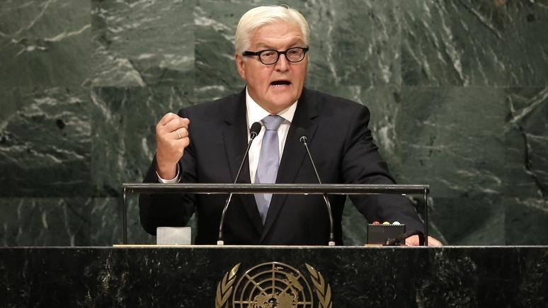 DLF: Штайнмайер приписал Москве ответственность за руины в Алеппо