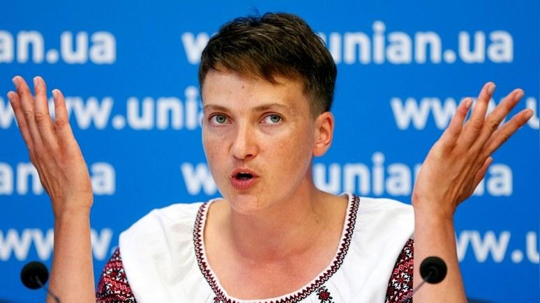 112: Савченко предложила предоставить особый статус всей Украине