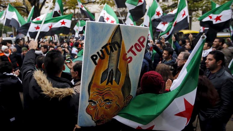 RР: Запад слишком долго закрывал глаза на то, что Россия творит в Сирии