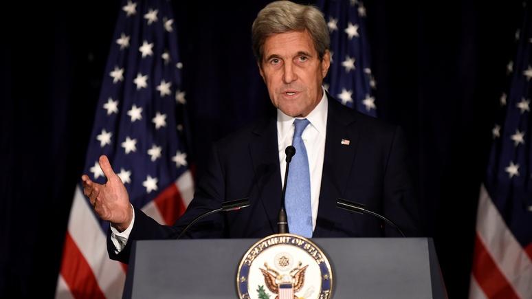 WSJ: Керри пригрозил России отказом сотрудничать в Сирии