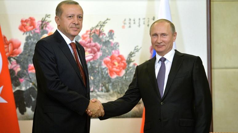 DWN: «Предвыборный хаос» в США пошел на пользу союзу России и Турции