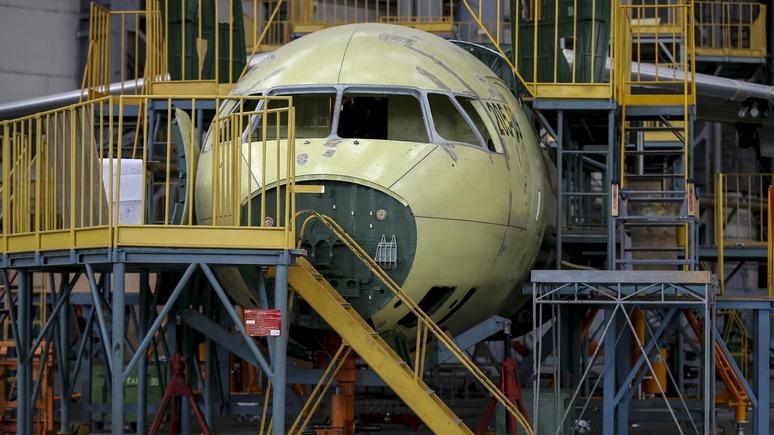 Левый берег: Украина расписалась в неспособности создавать самолеты
