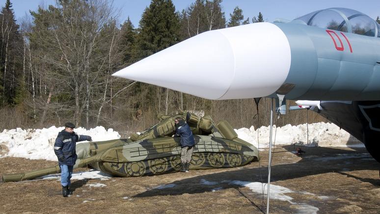 NYT: Надувные обманки для российской армии поставили на поток