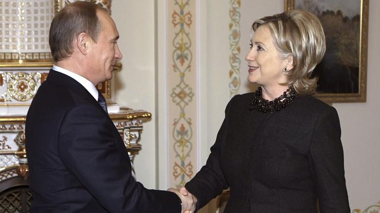 Fox News уличил Хиллари Клинтон в симпатиях к Путину