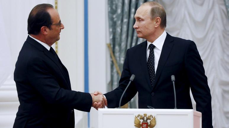 BV: Путин для Франции не друг и не враг, он – «союзник в силу обстоятельств»