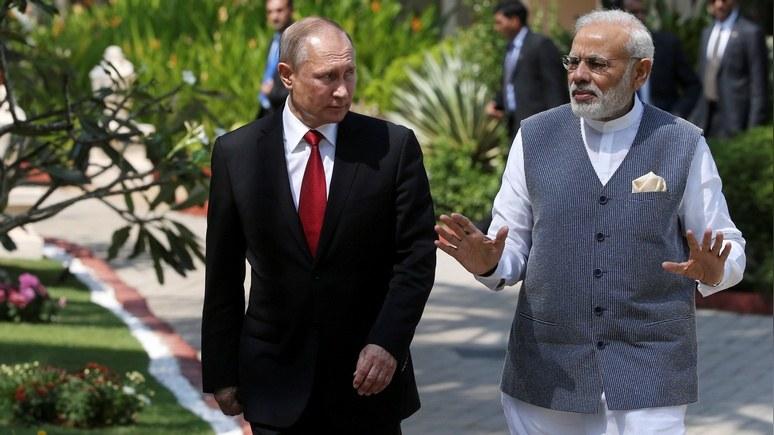 Моди - Путину: «Старый друг лучше новых двух»