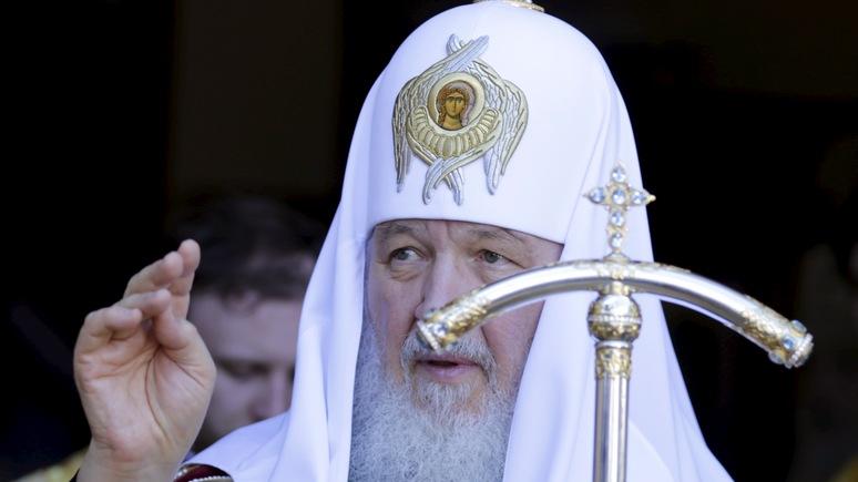 Times: Патриарх Кирилл обсудил с архиепископом судьбу церкви в «трудные времена»
