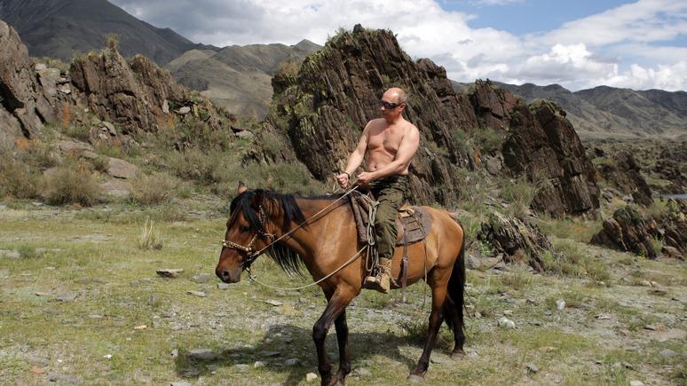 Der Tagesspiegel: Немецкого политика не встретишь на коне и с голым торсом