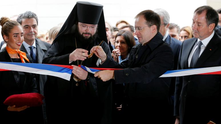 NouvelObs об открытии православного собора в Париже: Ни закусок, ни знаменитостей
