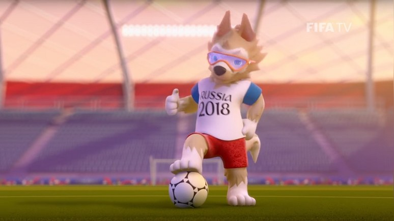 Guardian: Талисманом ЧМ-2018 по футболу стал волк Забивака